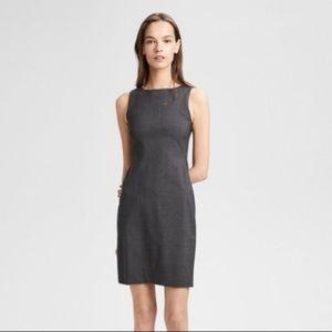 Theory Betty 2B Edition Gray Sheath Dress Size 6